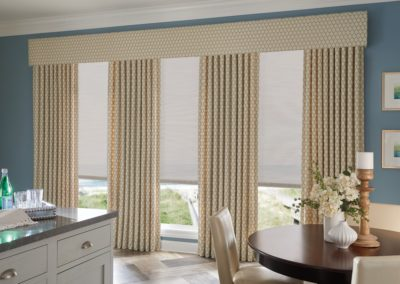 Graber-49107-Solar-Shades-RS17-V1 drapery with valance