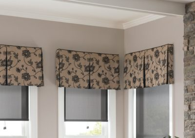 graber valances, cornices, and top treatments
